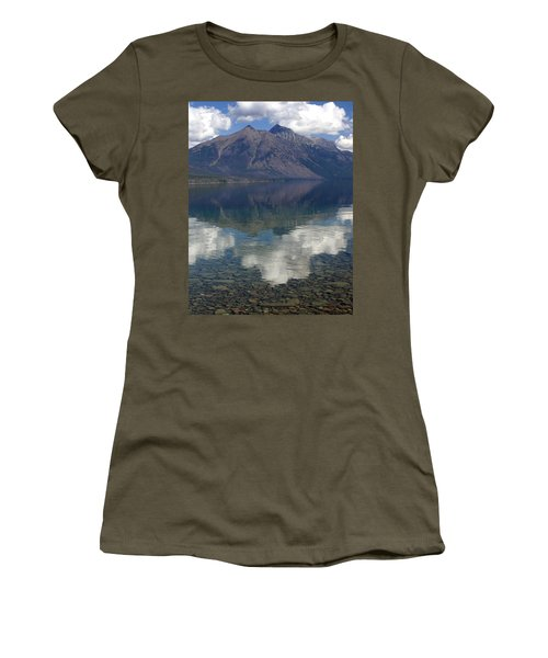 Reflections On The Lake Women's T-Shirt