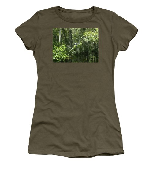 Reflections Upon The Swamp Women's T-Shirt (Athletic Fit)