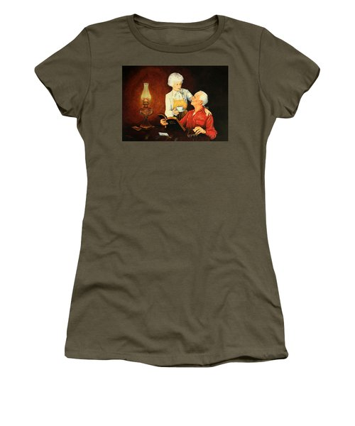 Refreshment  Break Women's T-Shirt (Athletic Fit)