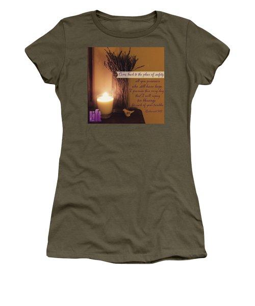 Rejoice, O People Of Zion!  Shout In Women's T-Shirt