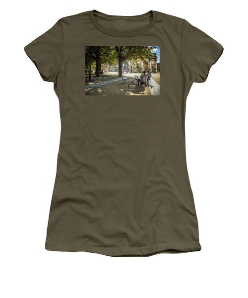 Relaxing Afternoon In Paris Women's T-Shirt
