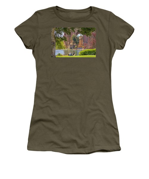 Relaxing At The Palace Women's T-Shirt