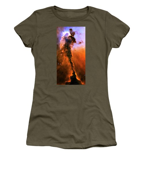 Release - Eagle Nebula 1 Women's T-Shirt (Junior Cut) by Jennifer Rondinelli Reilly - Fine Art Photography