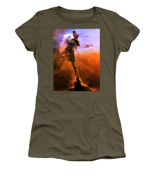 Release - Eagle Nebula 2 Women's T-Shirt (Junior Cut) by Jennifer Rondinelli Reilly - Fine Art Photography