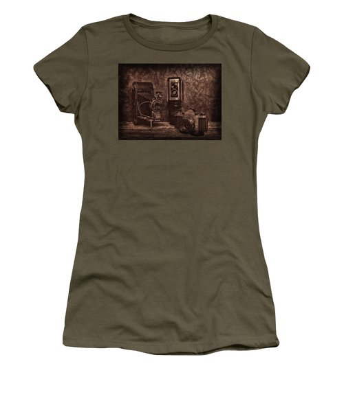 Relics Women's T-Shirt (Junior Cut) by Mark Fuller