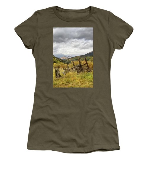 Remains Of A Corral Women's T-Shirt
