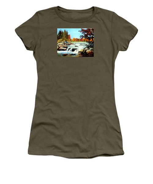 Remembering The Little Broad River Women's T-Shirt (Athletic Fit)