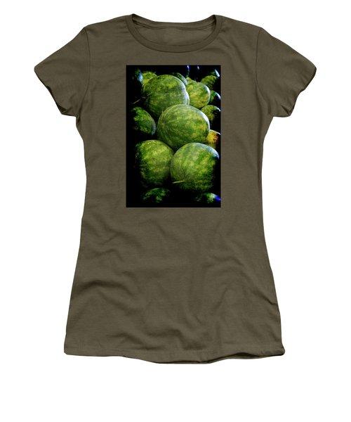 Renaissance Green Watermelon Women's T-Shirt