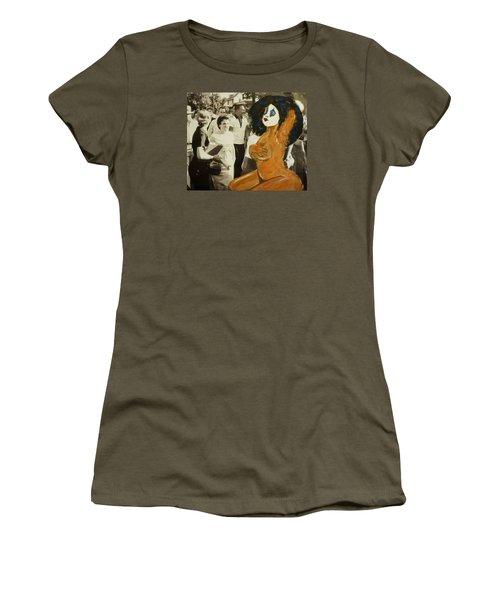 Renee Segregationist Women's T-Shirt (Junior Cut) by Deedee Williams