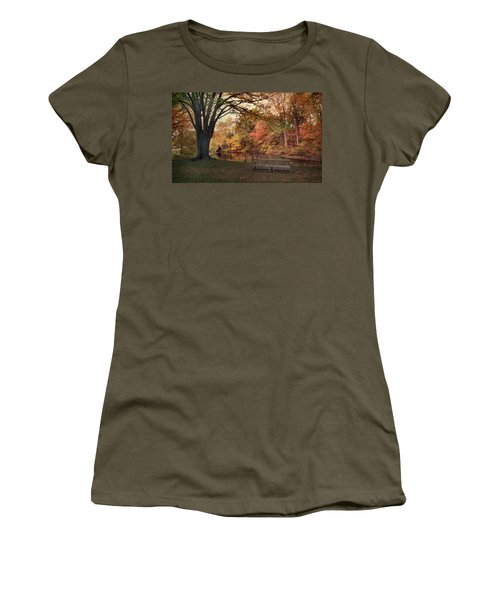 Women's T-Shirt featuring the photograph Respite River by Jessica Jenney