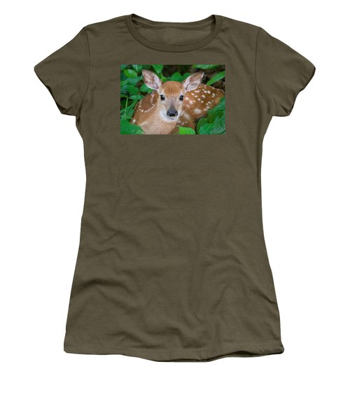 Resting Fawn Women's T-Shirt (Athletic Fit)