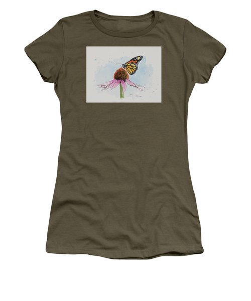 Resting Monarch Women's T-Shirt