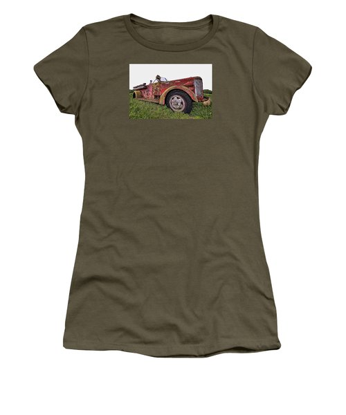 Retired Hero Women's T-Shirt (Athletic Fit)