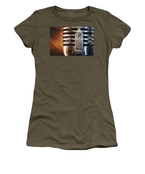 Retro Microphone Women's T-Shirt