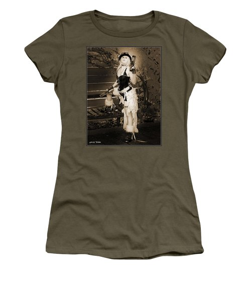 Retro Steam Punk Vixen Women's T-Shirt