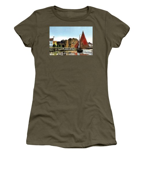 Returning Home To The Cladagh Women's T-Shirt (Athletic Fit)
