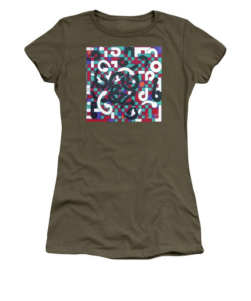 Women's T-Shirt featuring the drawing Rfb1008 by Robert F Battles