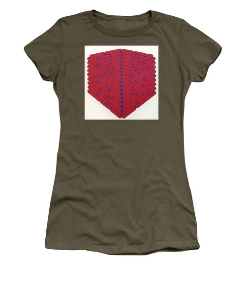 Women's T-Shirt featuring the drawing Rfb1019 by Robert F Battles