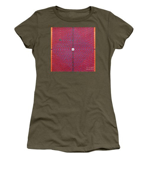 Women's T-Shirt featuring the drawing Rfb1020 by Robert F Battles