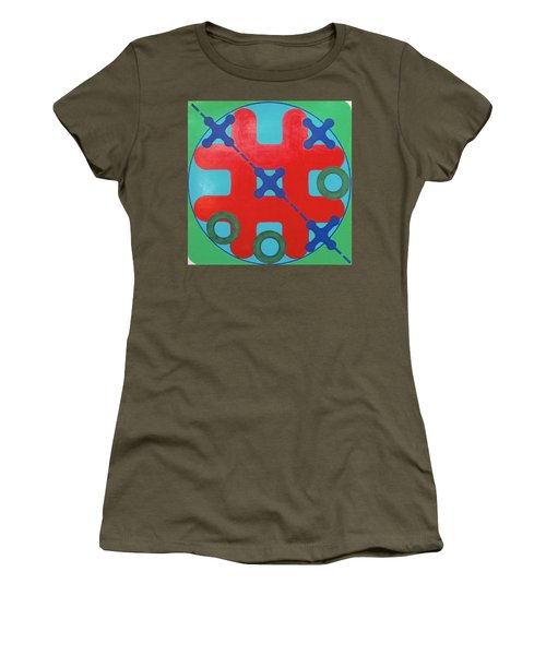 Women's T-Shirt featuring the drawing Rfb1023 by Robert F Battles