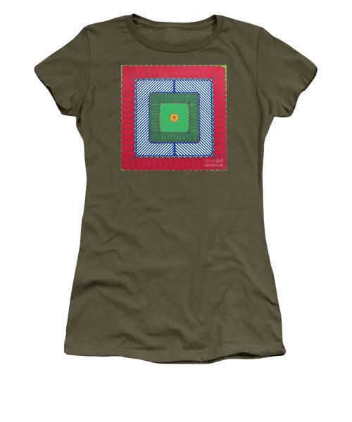 Women's T-Shirt featuring the drawing Rfb1029 by Robert F Battles