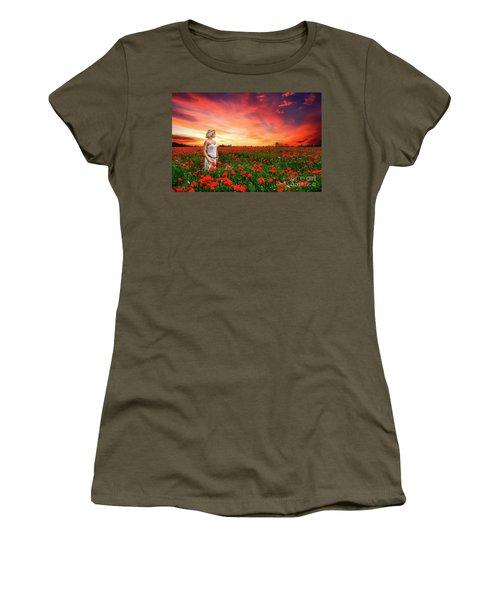 Rhapsody In Red Women's T-Shirt