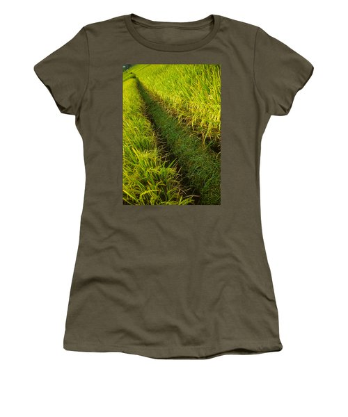 Rice Field Hiking Women's T-Shirt
