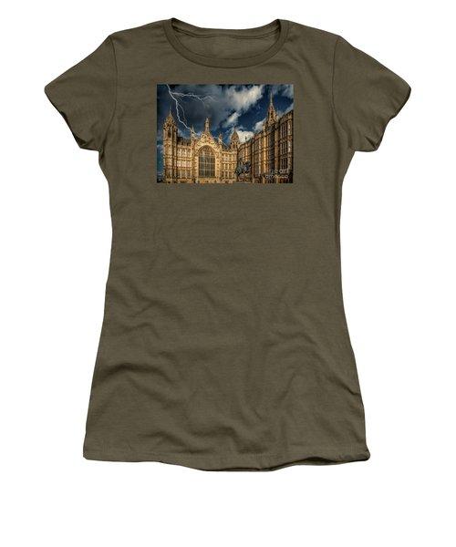 Women's T-Shirt (Junior Cut) featuring the photograph Richard The Lionheart by Adrian Evans