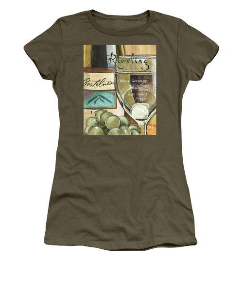 Riesling Wine Women's T-Shirt