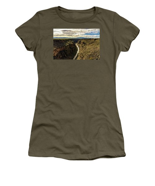 Rio Grande Gorge  Women's T-Shirt (Junior Cut) by Robert FERD Frank