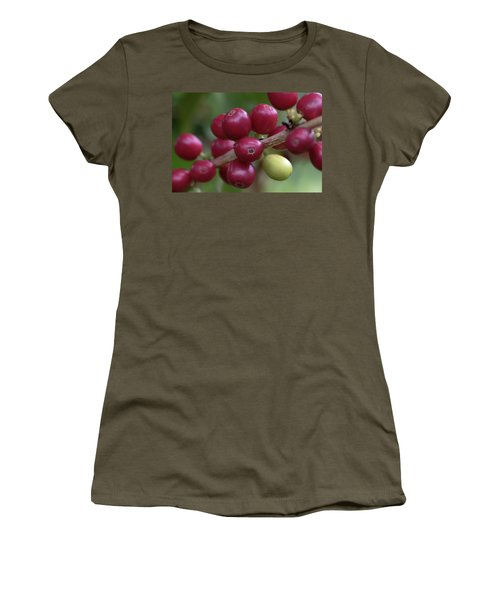 Ripe Kona Coffee Cherries Women's T-Shirt
