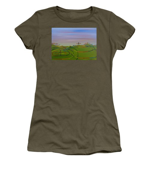 Ripples Of Life 1.2 Women's T-Shirt (Athletic Fit)
