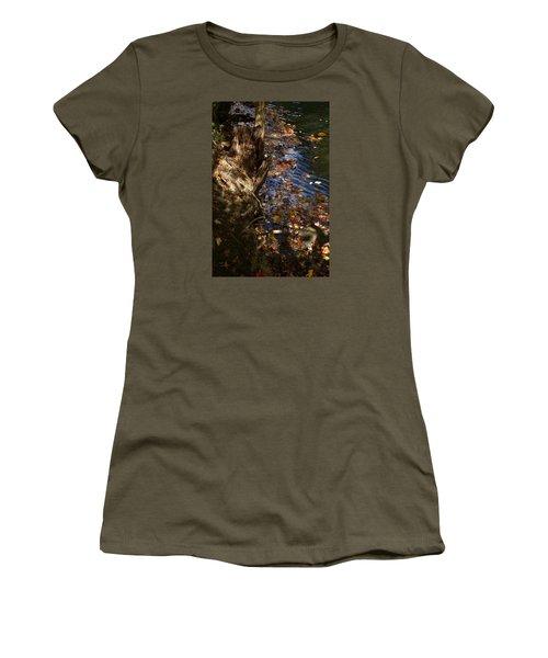 Riverbank View Women's T-Shirt (Junior Cut) by Margie Avellino