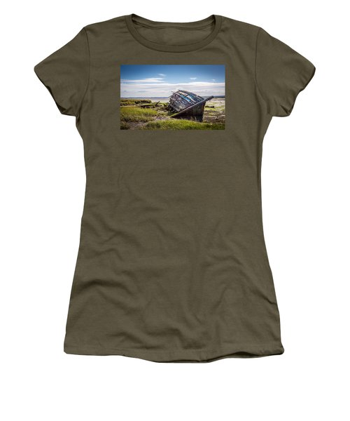 Riverside Boat. Women's T-Shirt