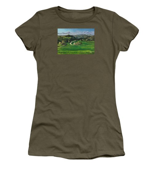 Road In The Mountains Women's T-Shirt