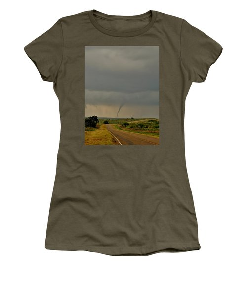Road To The Twister Women's T-Shirt (Athletic Fit)