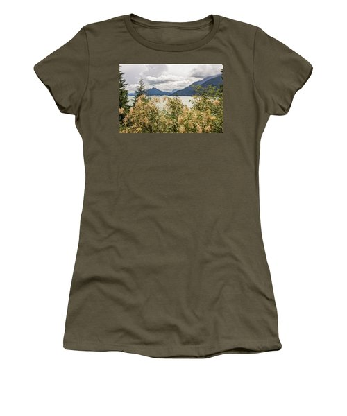 Road With A View Women's T-Shirt (Athletic Fit)