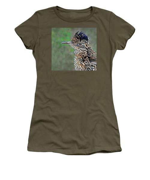 Roadrunner Portrait Women's T-Shirt (Athletic Fit)