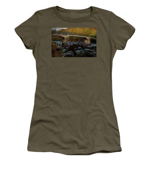 Rock Creek Park Bridge Women's T-Shirt (Athletic Fit)