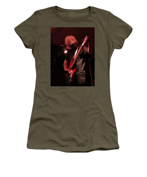Women's T-Shirt (Athletic Fit) featuring the photograph Rocker by Aaron Martens