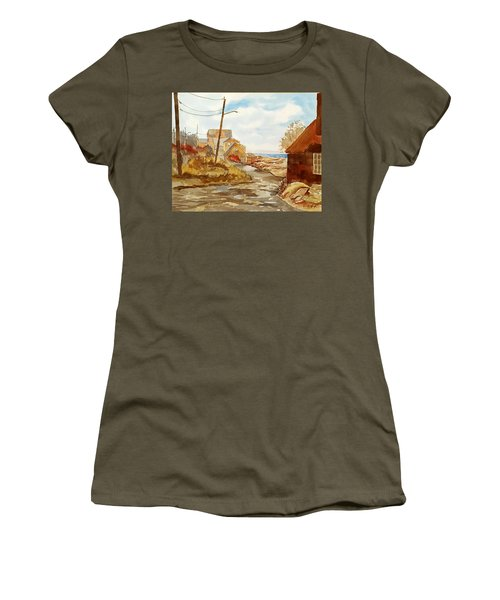 Rockport Coast Women's T-Shirt (Athletic Fit)