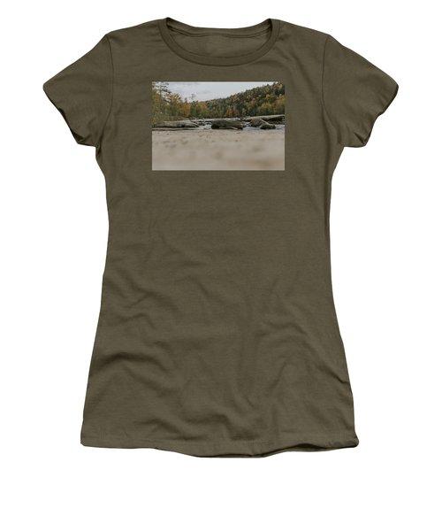 Rocks On Cumberland River Women's T-Shirt