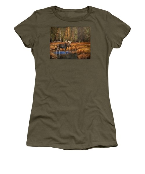 Rocky Mountain Wading Pool Women's T-Shirt (Athletic Fit)