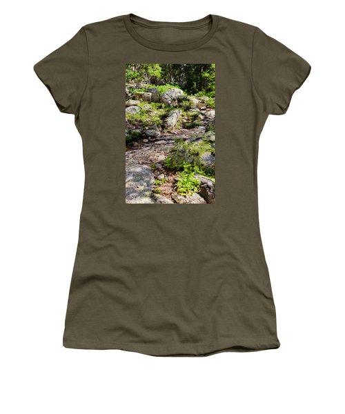 Rocky Trail Path Women's T-Shirt