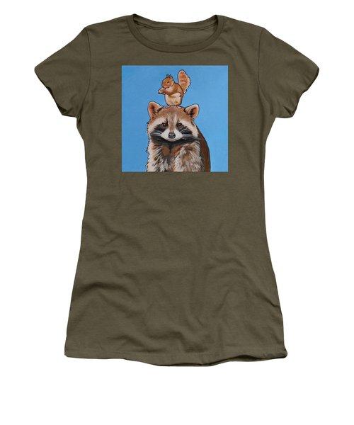 Rodney The Raccoon Women's T-Shirt