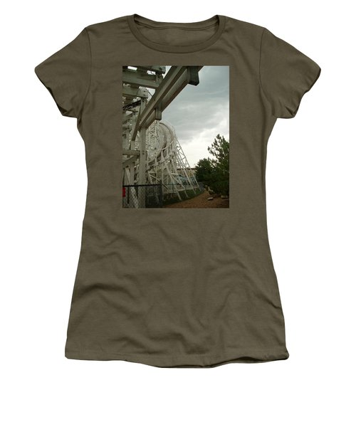 Roller Coaster 5 Women's T-Shirt (Athletic Fit)