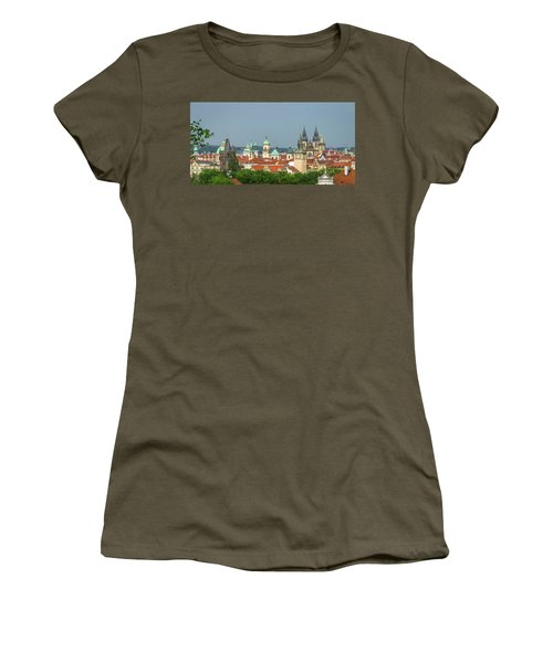 Rooftops Women's T-Shirt (Athletic Fit)