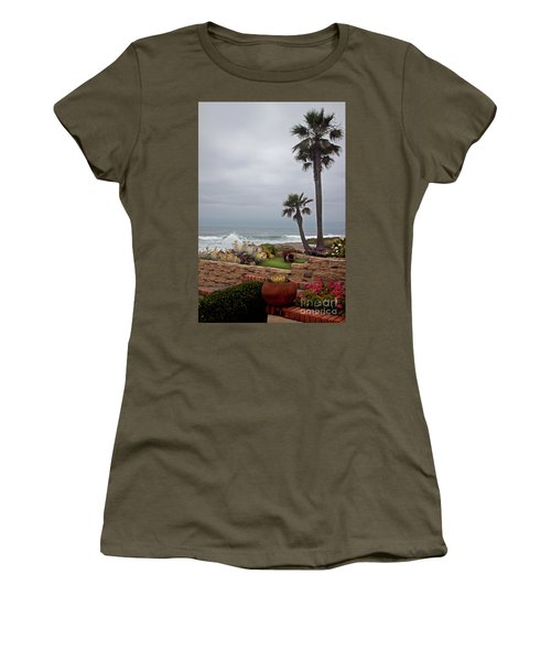 Rosarito Beach Women's T-Shirt (Junior Cut) by Ivete Basso Photography