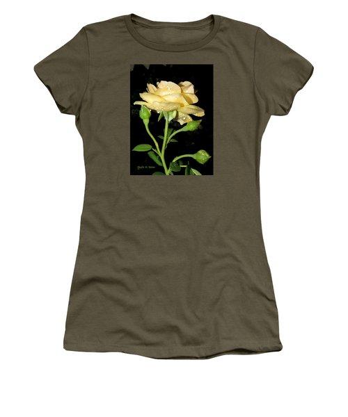 Rose 2 Women's T-Shirt (Junior Cut) by Phyllis Beiser