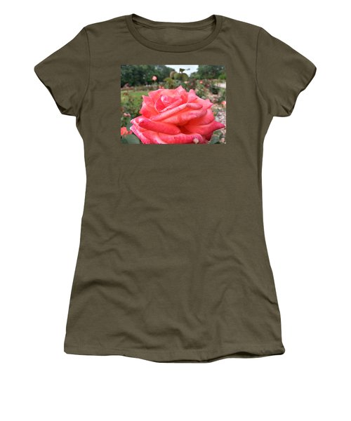 Women's T-Shirt featuring the photograph Rose Of Sharon - Faith by Robert Knight